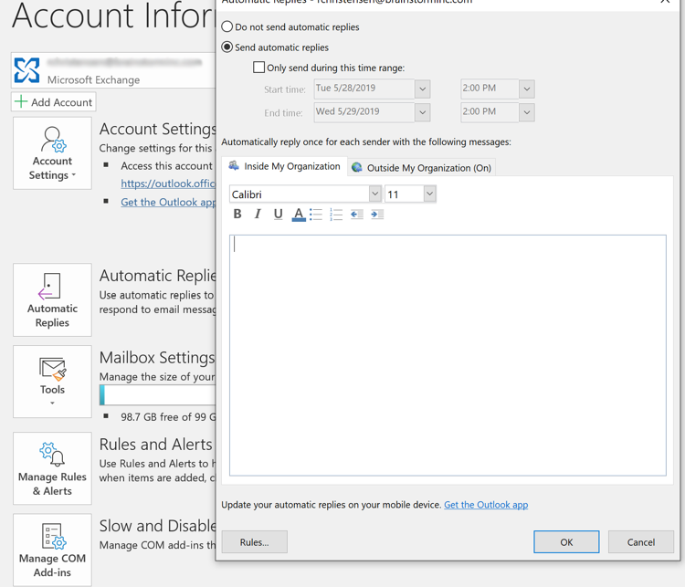 Out of Office in Outlook: How to Set It Up in a Flash