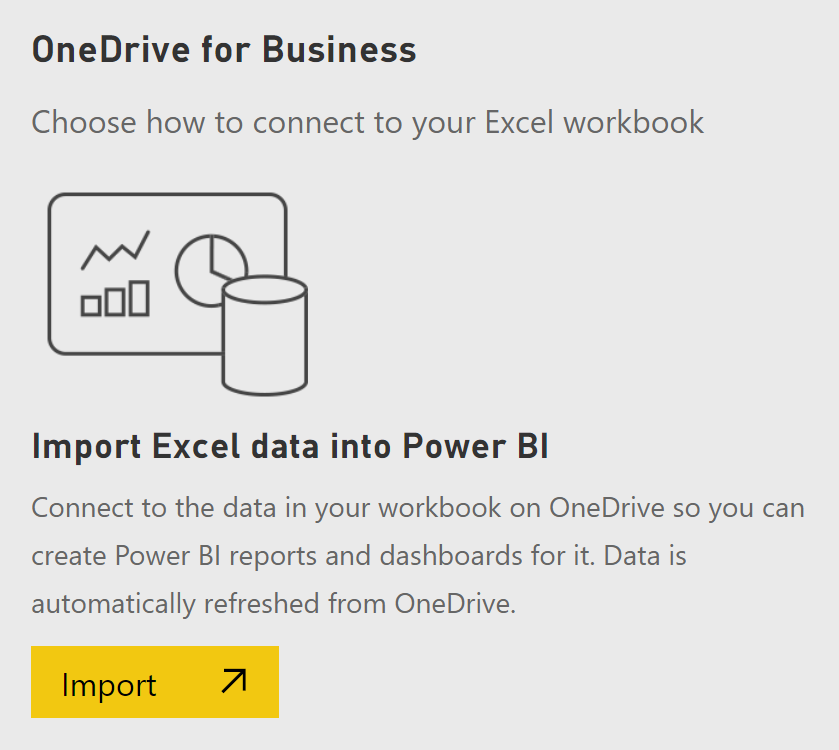 Importing and Connecting OneDrive Files to Power BI